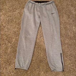 Nike Dri fit sweat pants.